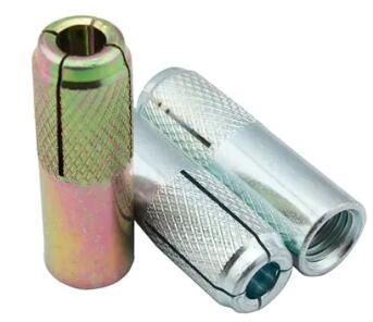 گالوانیزه فولاد کربن قطره چاقو در Anchor M6 تا M20