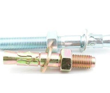 لنگرهای گوه فلزی گالوانیزه M6 تا M20