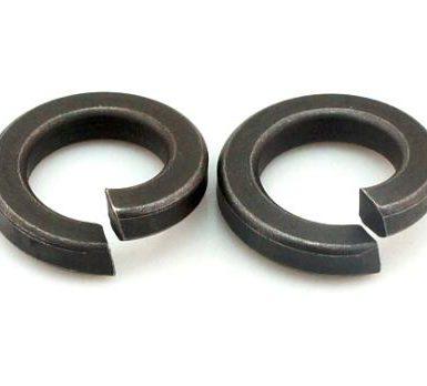 واشر بهاری ساده اکسید سیاه DIN127 DIN128
