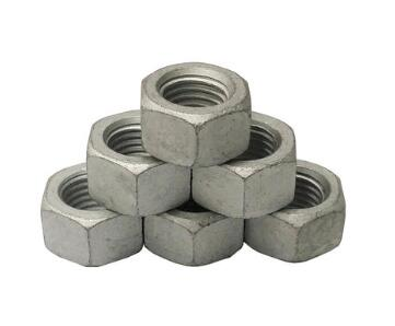 شیب داغ galvainzed din934 hex nut A563